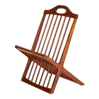 Magazine Rack by by Arthur Umanoff for Washington Woodcraft For Sale