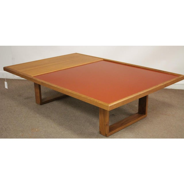 Mid-Century Modern Donghia (Riverbed Collection)Coffee/Tea Table For Sale In Boston - Image 6 of 6