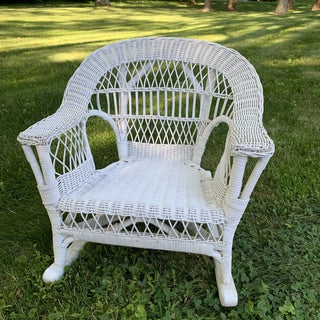 Children's Vintage Wicker Rocking Chair Preview