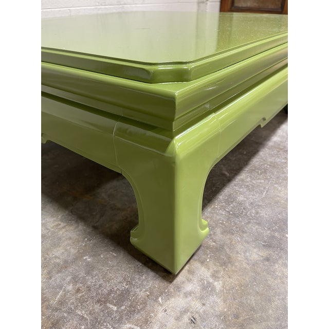Henredon Lacquered Vintage Henredon Ming Table For Sale - Image 4 of 8