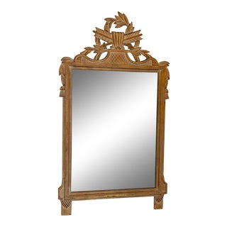 Vintage French Country Style Mirror For Sale