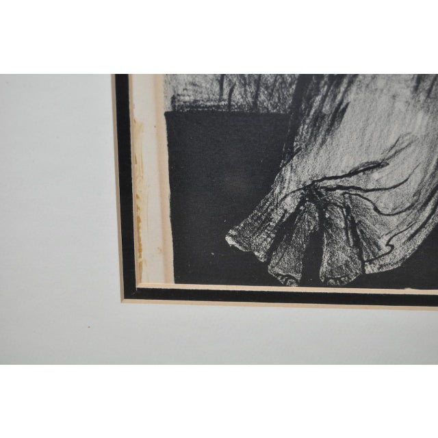 "Jose Clemente Orozco ""The Requiem"" Pencil Signed Lithograph c.1928 - Image 7 of 8"