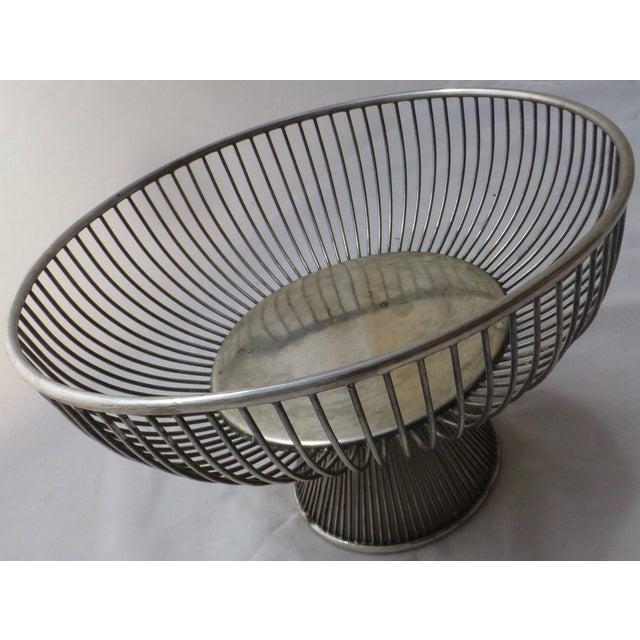 Warren Platner Style Mid Century Fruit Basket - Image 4 of 11