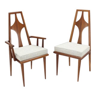 Swedish Dining Chairs New Upholstery - Set of 6 For Sale