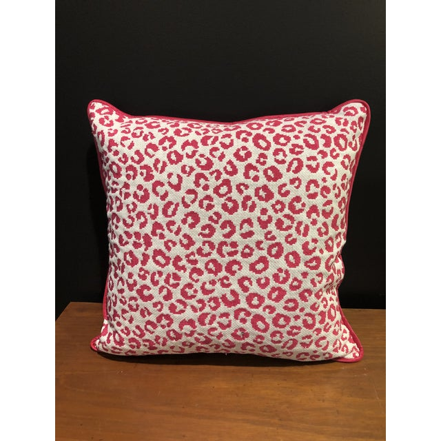 """Fresh and up to date look for any room. Kate Spade New York pattern """"Ocelot Dot"""" Epinlge in the colorway Fuschia shown..."""