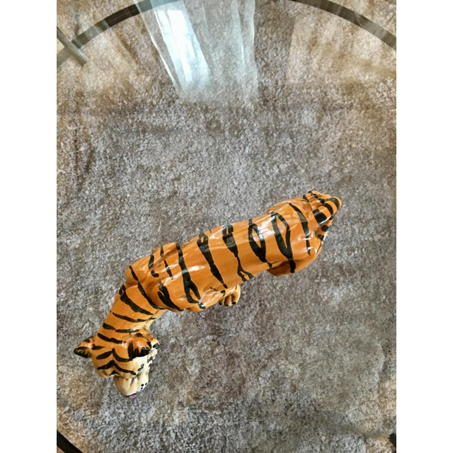 1970's Italian Terracotta Tiger - Image 6 of 8