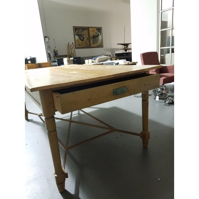 Antique French Dining Table For Sale - Image 4 of 6