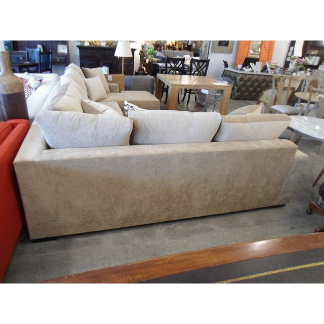 3-Piece Beige Sectional Sofa - Image 4 of 4
