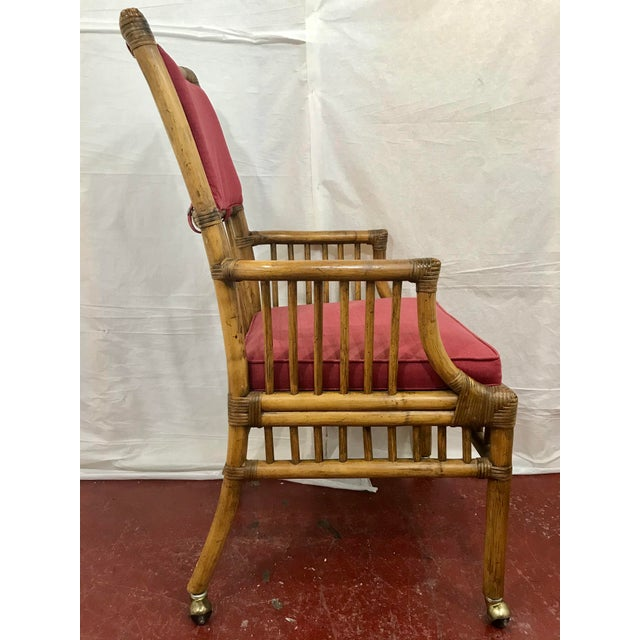 Bamboo Dining Chairs Set of 8 For Sale - Image 6 of 13