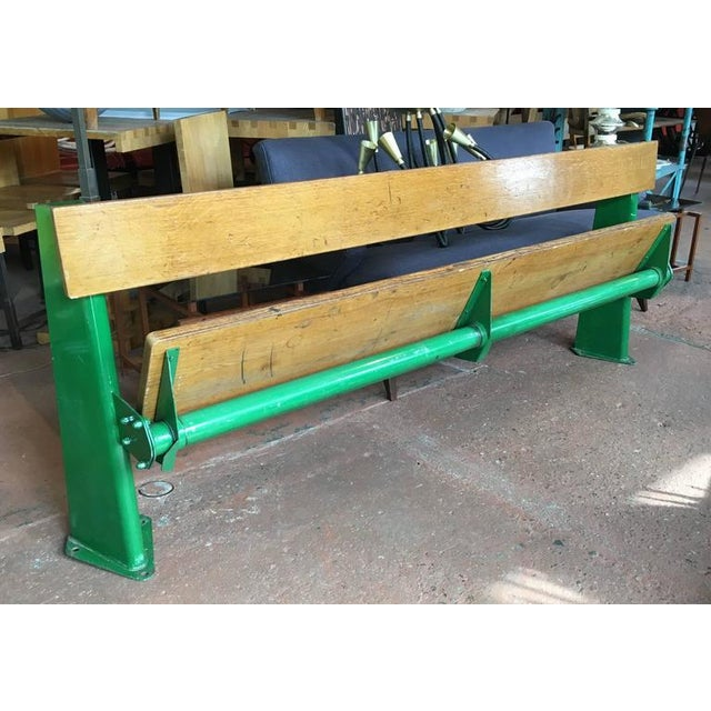 Green Bench by Jean Prouve, circa 1957 For Sale - Image 8 of 8