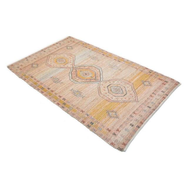 Blush Naina, Bohemian Moroccan Hand Loom Area Rug, Blush, 9 X 12 For Sale - Image 8 of 9