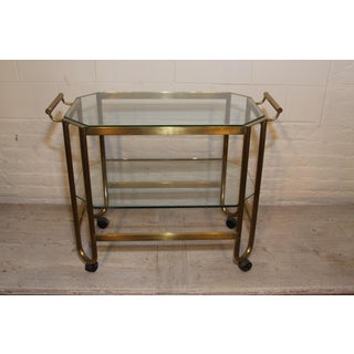 French 1940s Bar Cart Preview