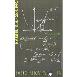 "Marleen Deceukelier ""Drawing Dietmar Guderian Leibniz, Newton and Displacement"" 1992 Lithograph For Sale"