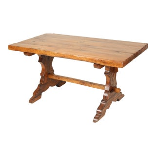 Antique Continental Baroque Style Dining Room Table For Sale
