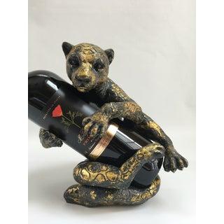 Vintage Regency Style Leopard Bottle Holder Preview