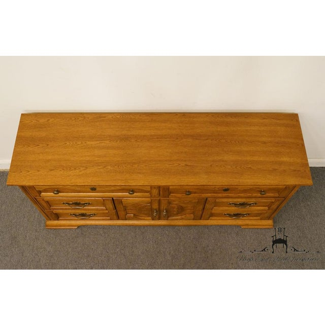 Late 20th Century Vintage Dixie Asian Chinoiserie Triple Dresser For Sale - Image 5 of 13