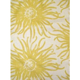 Duralee Miranda Yellow Fabric - 1 Yard For Sale