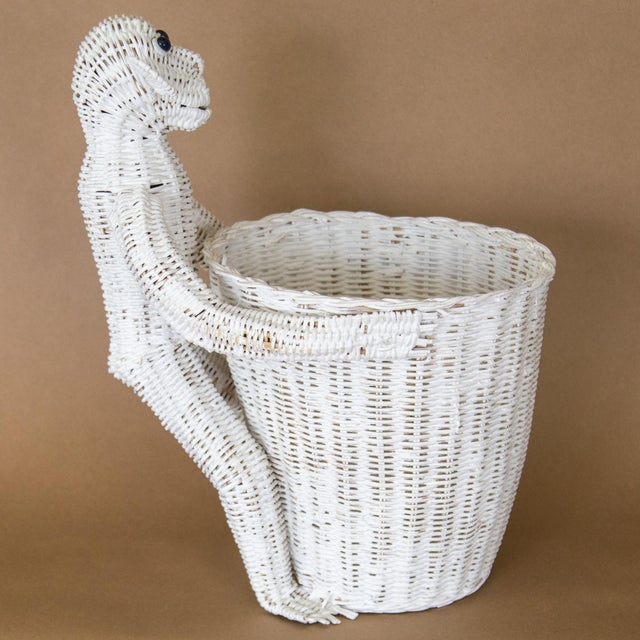 Mario Lopez Torres Wicker Monkey Basket For Sale In Chicago - Image 6 of 11