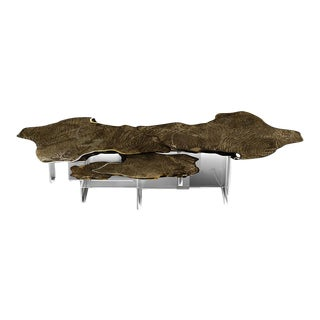 Monet Patina Center Table From Covet Paris For Sale