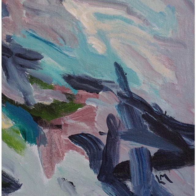 "2010s Laurie MacMillan ""Tween Season"" Abstract Painting For Sale - Image 5 of 5"
