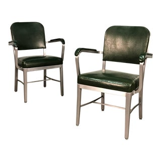Mid-Century Industrial Office Chair by Cole-Steel ~ a Pair For Sale