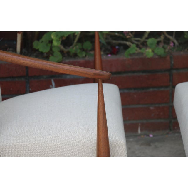Kodawood Lounge Chairs - a Pair For Sale In Los Angeles - Image 6 of 11
