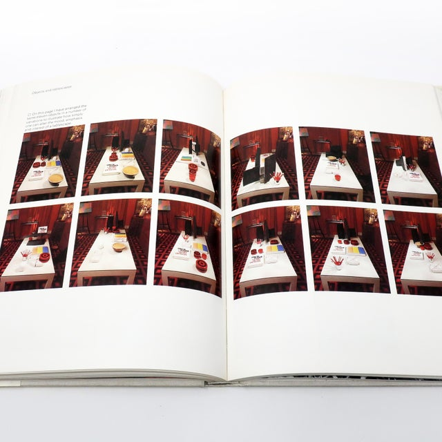 """Paper David Hicks """"Living With Design"""" Book For Sale - Image 7 of 8"""