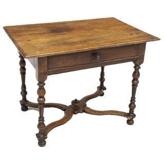 18th Century French Henri II Style Walnut Writing Desk For Sale