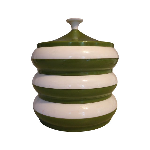 Mid-Century Stackable Container - Image 1 of 5