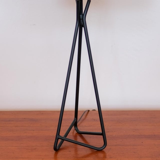 Sculptural Iron Table Lamp, 1950s For Sale - Image 4 of 7