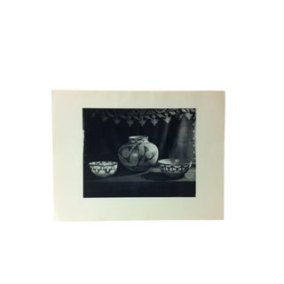 """Circa 1950 """"Santo Domingo Pottery"""" Indian Arts Fund Collection Print For Sale"""
