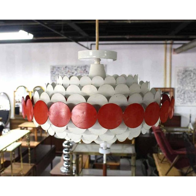 Early 20th Century Mid-Century Light Fixture For Sale - Image 5 of 8