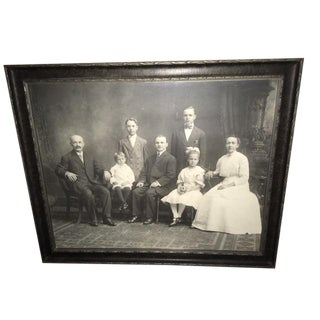 Family Portrait Black & White Photograph by Herman Kemper For Sale