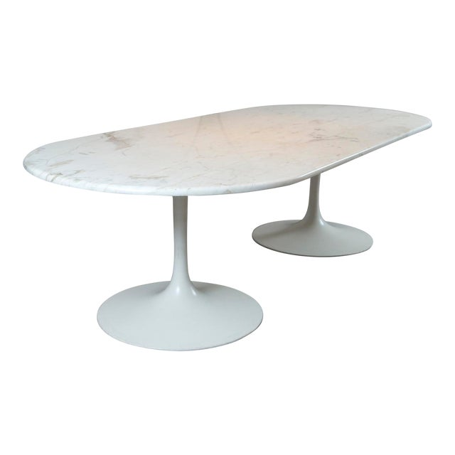 20th Century Mid-Century Tulip Dining Table For Sale