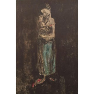 1959 Picasso, Mother & Child Period Lithograph For Sale
