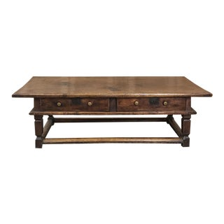 18th Century Country French Provincial Coffee Table For Sale