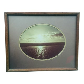 A 1970s Seascape by Northern Californian Photographer Takao Wakida