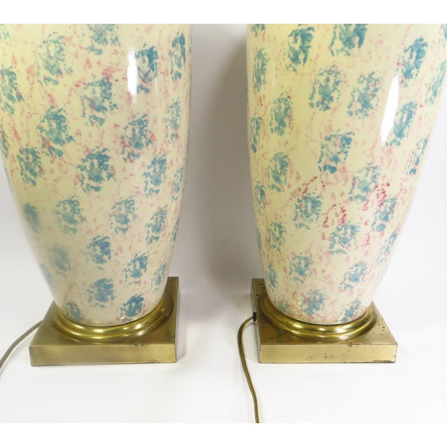 Tyndale Chicago Boudoir Table Lamps, 1980s - Pair - Image 3 of 8