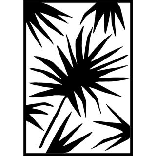 """Large """"Palm Two"""" Print by Kate Roebuck, 34"""" X 48"""" Preview"""