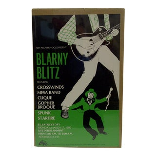 'Blarny Blitz: St. Patrick's Day' Concert Series Poster For Sale