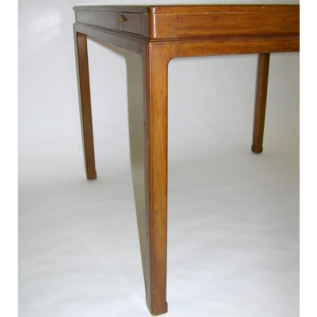 Mid-Century Modern Cork Top Game Table by Edward Wormley for Dunbar For Sale - Image 3 of 7