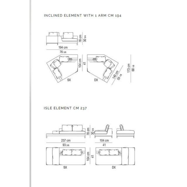 Minotti Hamilton Islands Sectional Sofa For Sale - Image 9 of 13
