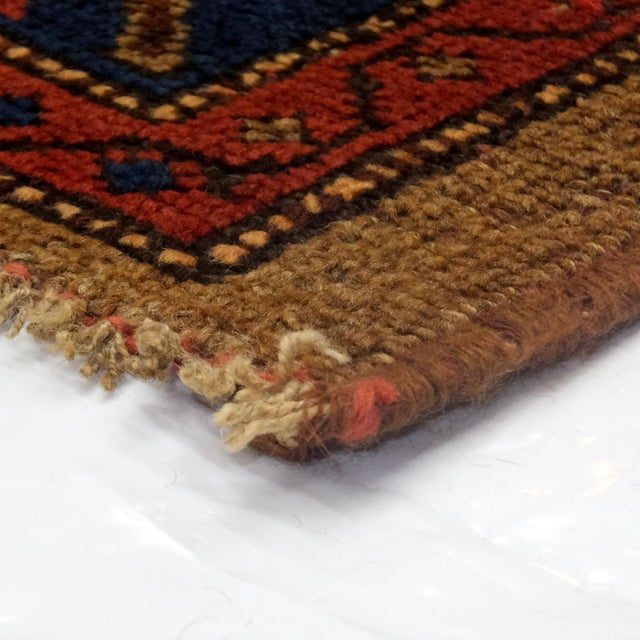 "Leon Banilivi Antique Persian Rug - 6'4"" X 4'4"" For Sale - Image 4 of 4"