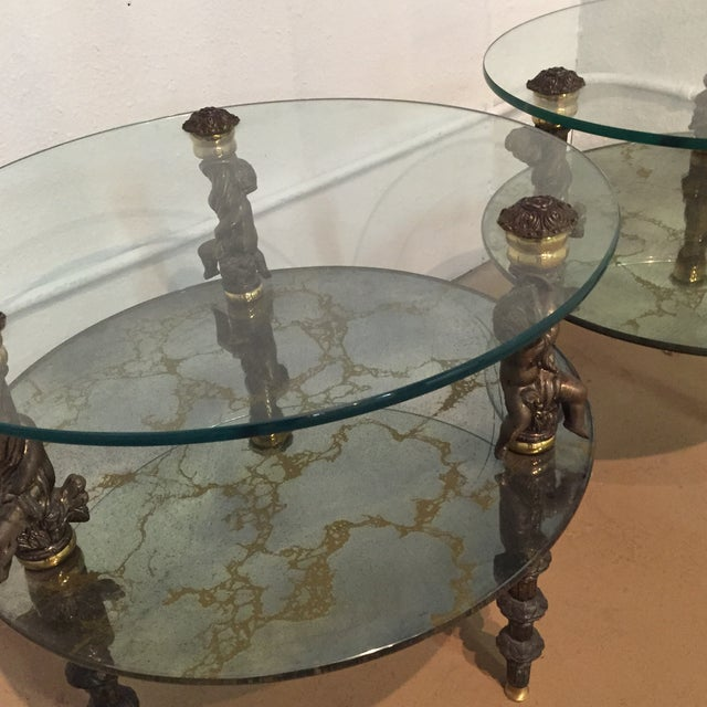 Hollywood Regency Side Tables - A Pair - Image 3 of 7