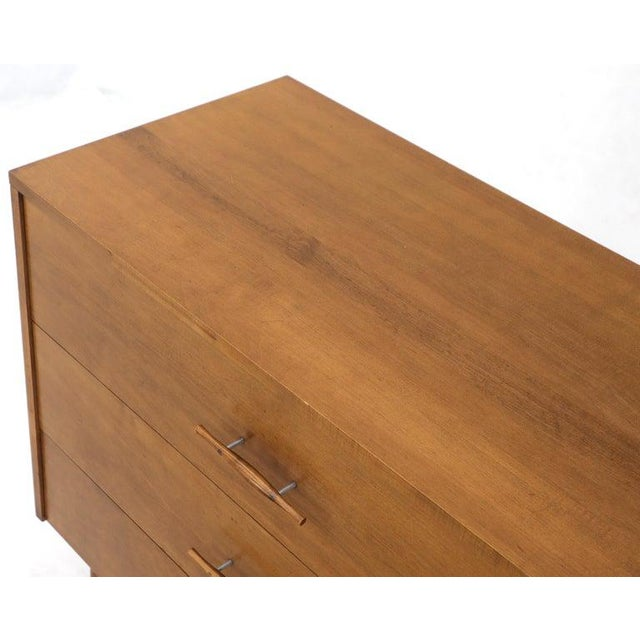 Paul McCobb Planner Group Solid Birch 3-Drawer Bachelor Chest Dresser For Sale - Image 10 of 12