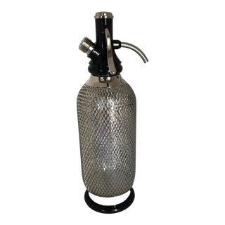 Classic Soda-Siphon Reusable Seltzer Bottle For Sale