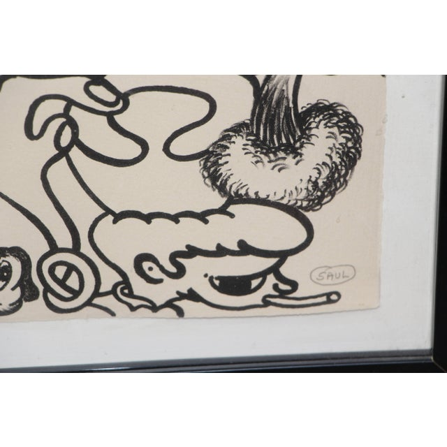 Peter Saul Lithograph Numbered 1/10 and Signed For Sale In Palm Springs - Image 6 of 8