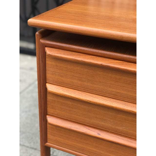 G. V. Gasvig Danish Modern Executive Teak Desk - Image 5 of 13