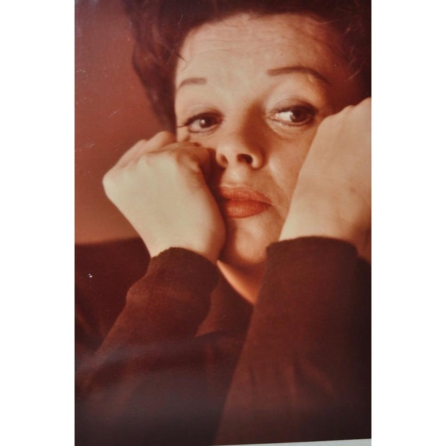 Photorealism Judy Garland Color Photograph c.1950 For Sale - Image 3 of 3
