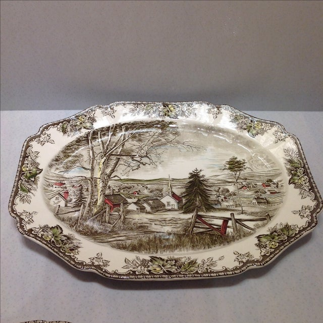 English Platters by Johnson Bros - Set of 2 - Image 4 of 10